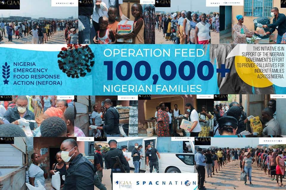 Amb. Utchay Odims: Operation Feed 100,000 Nigerian Families