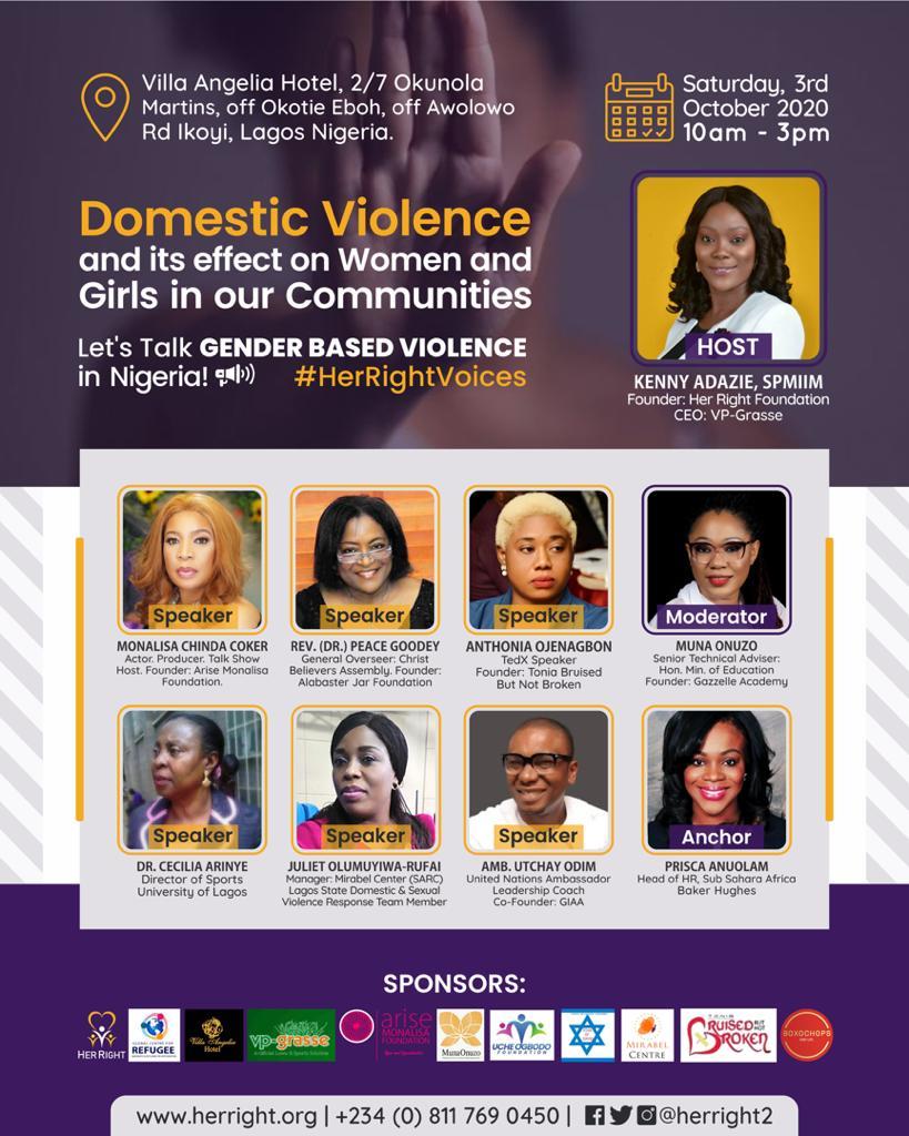 Let's Talk GENDER-BASED VIOLENCE In Nigeria!